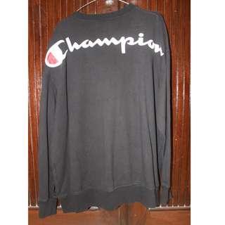 Champion Sweatshirt Blackwashed ORIGINAL 9/10