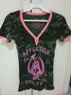 🚚 AFFLICTION women's tshirt