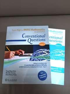 HKDSE Mathematics Conventional Questions Volume1