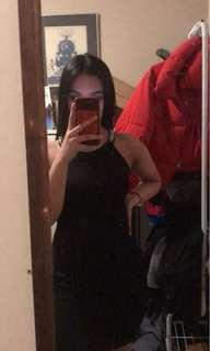 Body on dress