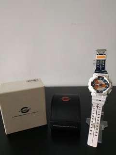 Casio G-Shock GA-110PS-7 Evangelion Rei Ayanami Eva Putih