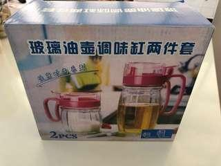 Condiment container set