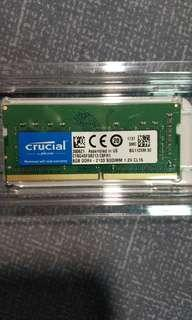 Crucial DDR4 8GB Laptop Memory