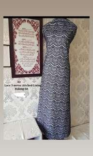 NEW Kain Pasang Lace with Lining