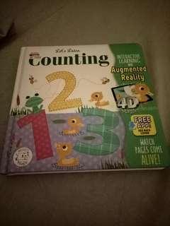 Buku ajaib Let's Learn Counting