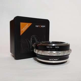 K&F Concept - Adapter Nikon Lens To Sony