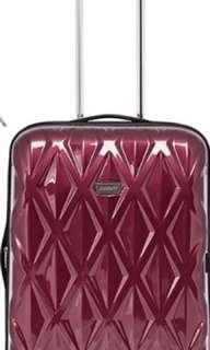 ANTLER MEDIUM RED HARDCASE SUITCASE LUGGAGE