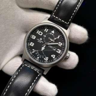 Aeromatic 德國飛機師腕錶 - A1348 (升級版 - 儲能數字大飛)
