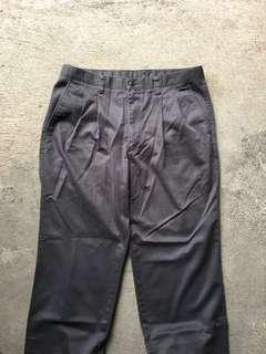 Uniqlo Chinos Grey Charcoal