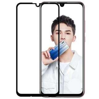 華為Y7 Pro 2019 二次強化玻璃膜 華為Y7 pro 2019滿版玻璃保護貼 全膠貼合 無網點