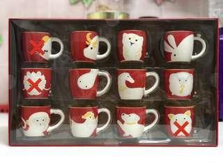 Starbucks Zodiac Demi Mug 3oz