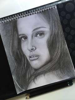 🚚 Portrait Sketch Commissioning