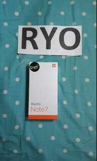 Redmi Note 7 4/64gb TAM BNIB