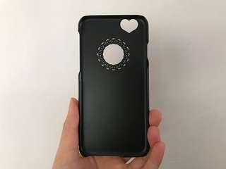 IPhone 6 lace heart cover casing