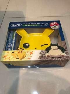 Oral B With Pokemon Collectible Box (Pikachu)