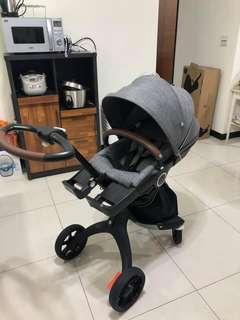 🚚 STokke 最新手推車+安全座椅