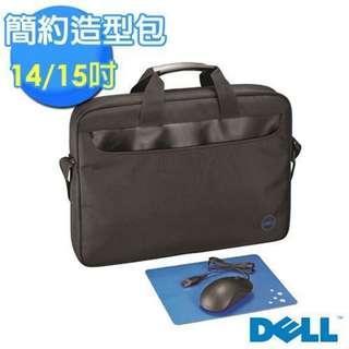 🚚 【Dell】戴爾14 / 15.6吋簡約造型筆電包 ※贈 光學滑鼠+滑鼠墊