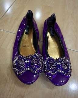 NEW Paulista Purple Flat Shoes