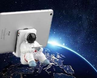 Astronaut mobile/computer holder