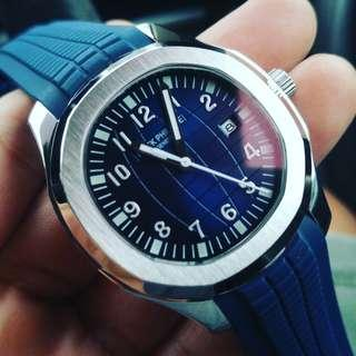 Pp automatic blue dial