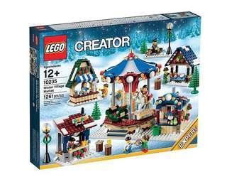 LEGO Winter Village Market (10235) 聖誕小村莊 全新未開盒