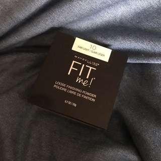 🚚 [美國進口]maybelline fitme 空氣絲絨蜜粉 10號(自然膚色)