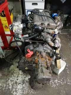 Engine evo3 4G67 (1.8)