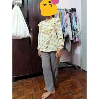 Set of pant & blouse