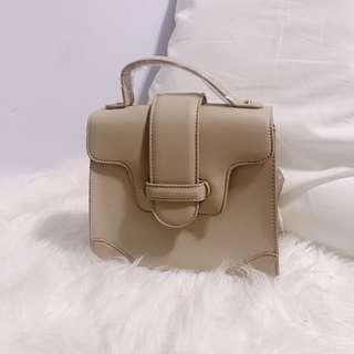 Nude Handbag/Sling Bag