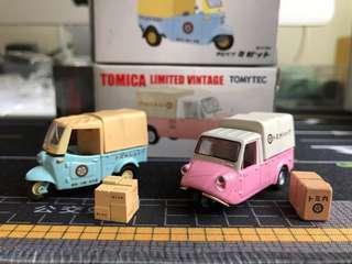 Tomica Limited Vintage tomytec 絕版 罕見 1:64 一對兩部不散賣