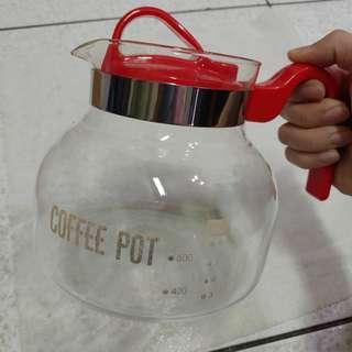 🚚 咖啡壺 泡茶壺 玻璃 #半價居家拍賣會