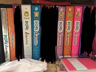 🚚 「Dork Diaries by Rachel Renée Russell, Books 1-12」