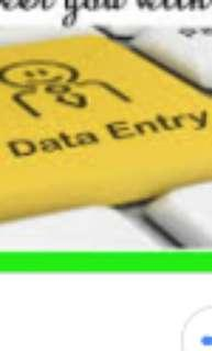 DATA ENTRY FOR INSURANCE AND ESTATE AGENTS