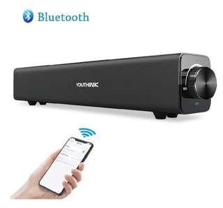 Wireless mini soundbar