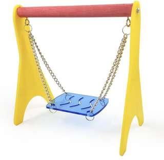 🚚 Pet Bird Cage Swing