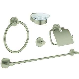 Grohe Essentials Master bathroom accessories set 5-in-1