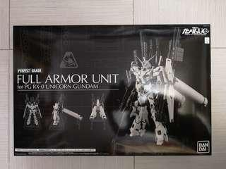 高達unicorn  Gundam PG  RX-0 武器set PG full armor unit