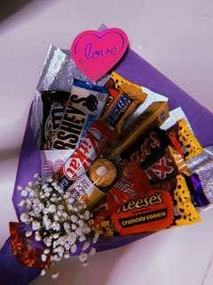 Chocolate bouquet 💐 mother's day/ birthday / graduation/ surprise/ anniversary/ monthsary/ for him / for her