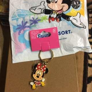 日本迪士尼購入米妮吊飾