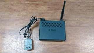 🚚 D-Link無線網路分享器