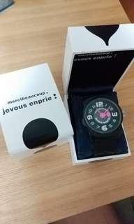 Mercibeaucoup Watch 黑色手錶