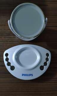 全新雙面鏡燈 Lighted Mirror Philips贈品