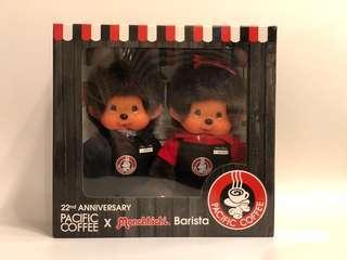 Pacific coffee x monchhichi baristic 22周年特別版