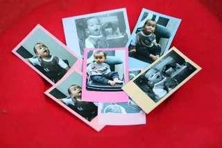 [25 foto] Cetak Foto Polaroid Warna Pastel / Rainbow