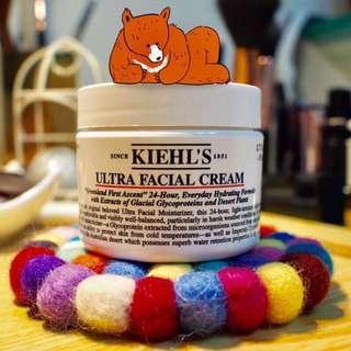 🚚 「全新現貨」契爾氏冰河醣蛋白保濕霜 50ml kiehl's Ultra Facial Cream