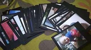 [25 foto] Cetak Foto Polaroid Warna Hitam