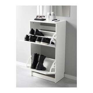 IKEA 2-Tier Shoe Cabinet