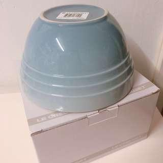 LE Creuset LC CB medium bowl coastal blue