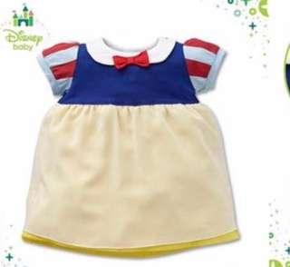 購自日本西松屋Snow White白雪公主 BB衫, 95碼(1~3歲),全新,限定商品