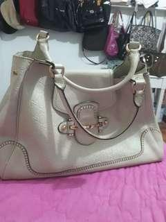 Gucci leather bag large